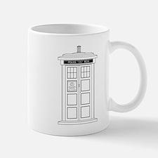 Old Fashioned British Police Box Mugs