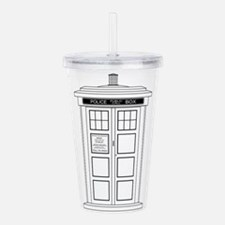 Old Fashioned British Acrylic Double-wall Tumbler