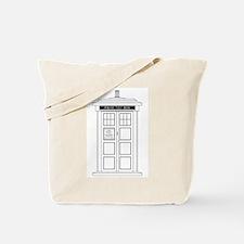 Old Fashioned British Police Box Tote Bag