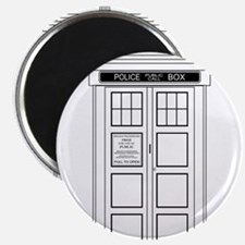 Old Fashioned British Police Box Magnets