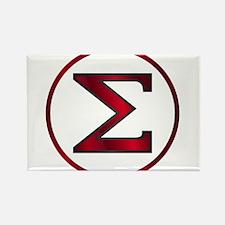 Sigma Greek Letter Magnets