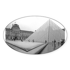 louvre Oval Decal
