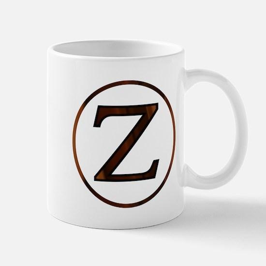 Zeta Greek Letter Mugs