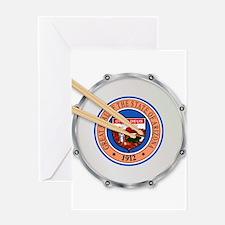 Arizona Snare Drum Greeting Cards
