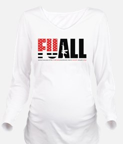 FUALL book cover Long Sleeve Maternity T-Shirt
