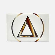 Delta Greek Letter Magnets
