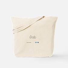 iDab (Black) Tote Bag