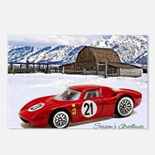 Hot Wheels_Ferrari 250 Le Mans_Red_Old Barn 5X7.J