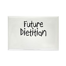 Future Dietitian Rectangle Magnet