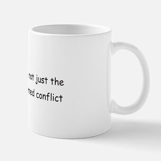 Peace Conflict Mug
