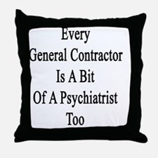 Funny General Throw Pillow