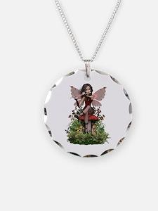 Ceara ~ Flute Fairy Necklace