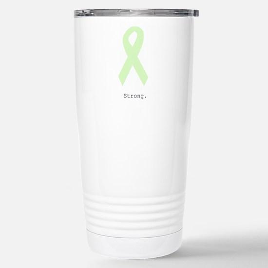 Mint Green: Strong Stainless Steel Travel Mug