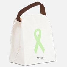 Mint Green: Strong Canvas Lunch Bag