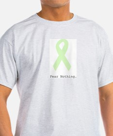 Mint Green: Fear Nothing. T-Shirt