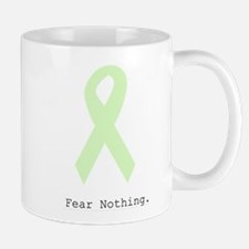 Mint Green: Fear Nothing. Mugs