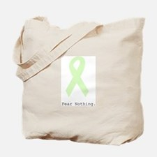 Mint Green: Fear Nothing. Tote Bag