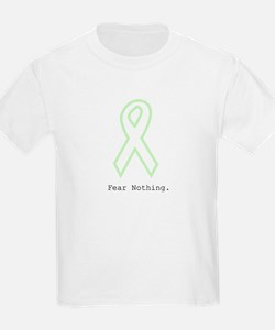 Mint Green Outline: Fear Nothing T-Shirt