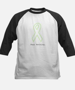 Mint Green Outline: Fear Nothing Baseball Jersey