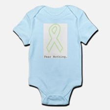 Mint Green Outline: Fear Nothing Body Suit