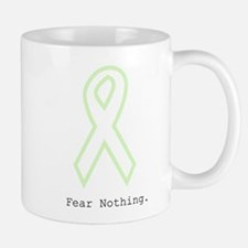 Mint Green Outline: Fear Nothing Mugs