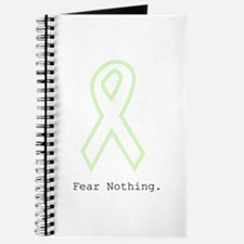 Mint Green Outline: Fear Nothing Journal