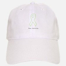 Mint Green Outline: Fear Nothing Baseball Baseball Cap