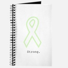 Mint Green Outline. Strong. Journal