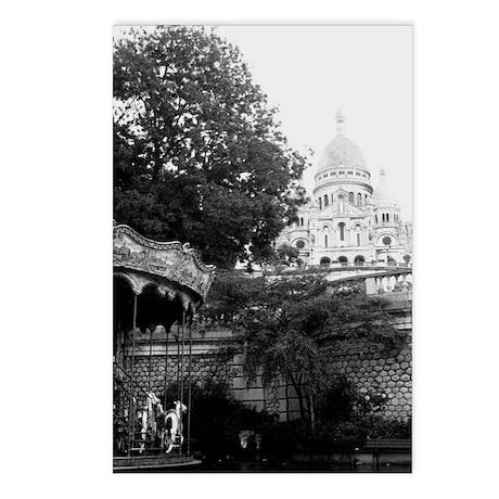 sacre coeur Postcards (Package of 8)
