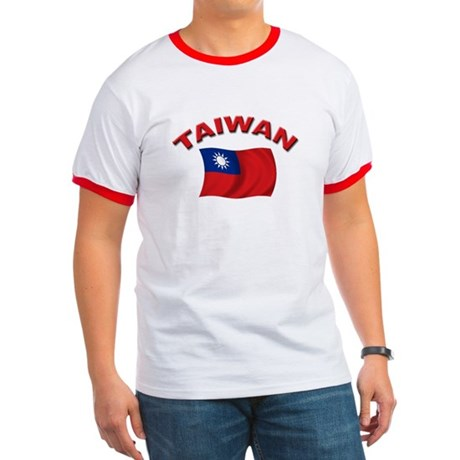 Taiwan Flag Ringer T