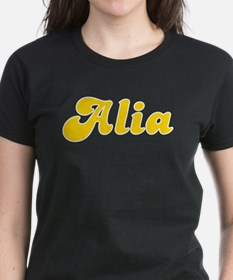 Alia Fancy (Gold) Tee