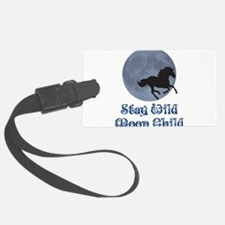 Stay Wild Moon Child Luggage Tag