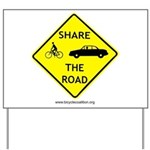 Share The Road Yard Sign