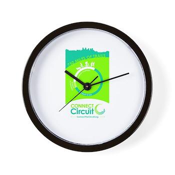 """The Circuit"" Wall Clock"