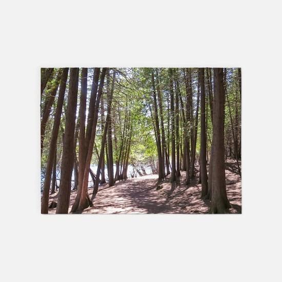 nature trail 5'x7'Area Rug
