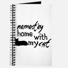 Namast'ay Home with My Cat Journal