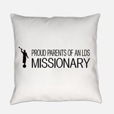 LDS: Proud Missionary Parents (Whi Everyday Pillow