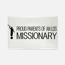 LDS: Proud Missionary Rectangle Magnet (100 pack)
