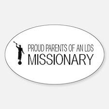 LDS: Proud Missionary Parents (Whit Decal