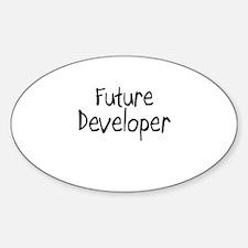 Future Developer Oval Decal