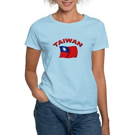 Taiwan Flag Women's Light T-Shirt