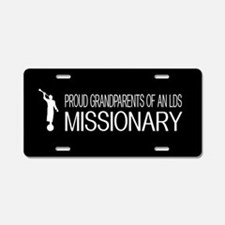 LDS: Proud Missionary Grand Aluminum License Plate