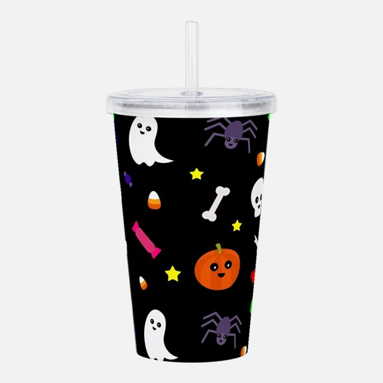 trick or treat Acrylic Double-wall Tumbler