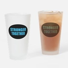 Hillary - Stronger Together Drinking Glass