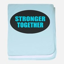 Hillary - Stronger Together baby blanket