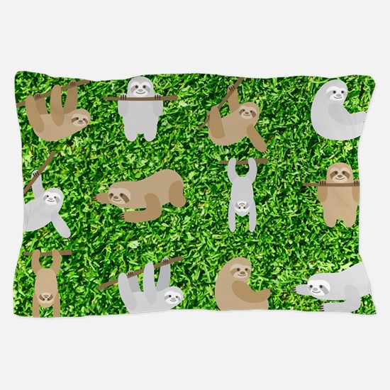 Funny Sloth Pillow Case