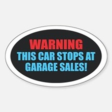 Garage Sales Decal