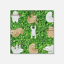 funny sloths Sticker