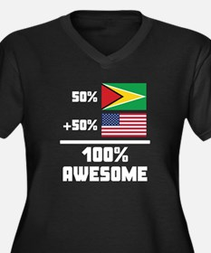 Awesome Guyanese American Plus Size T-Shirt