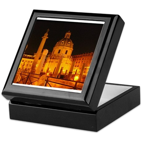 foro traiano Keepsake Box